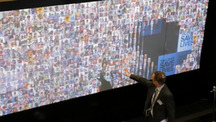 Gavi Conference Interactive Wall