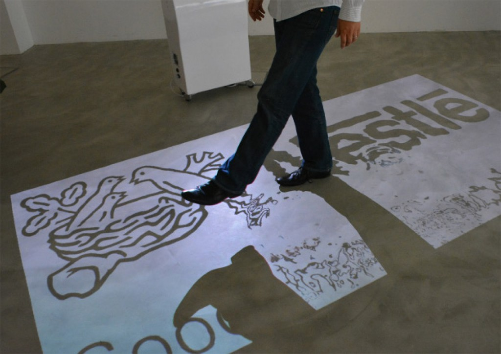 AdVis Lite Floor Projection Unit