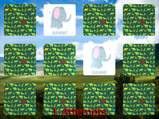 Interactive Memory Game