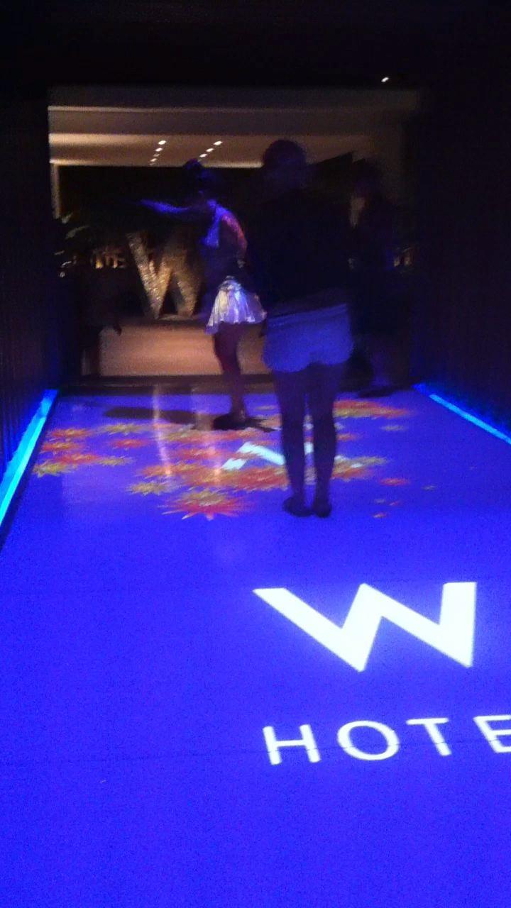 Interactive Floor in W Hotel, Koh Samui, Thailand