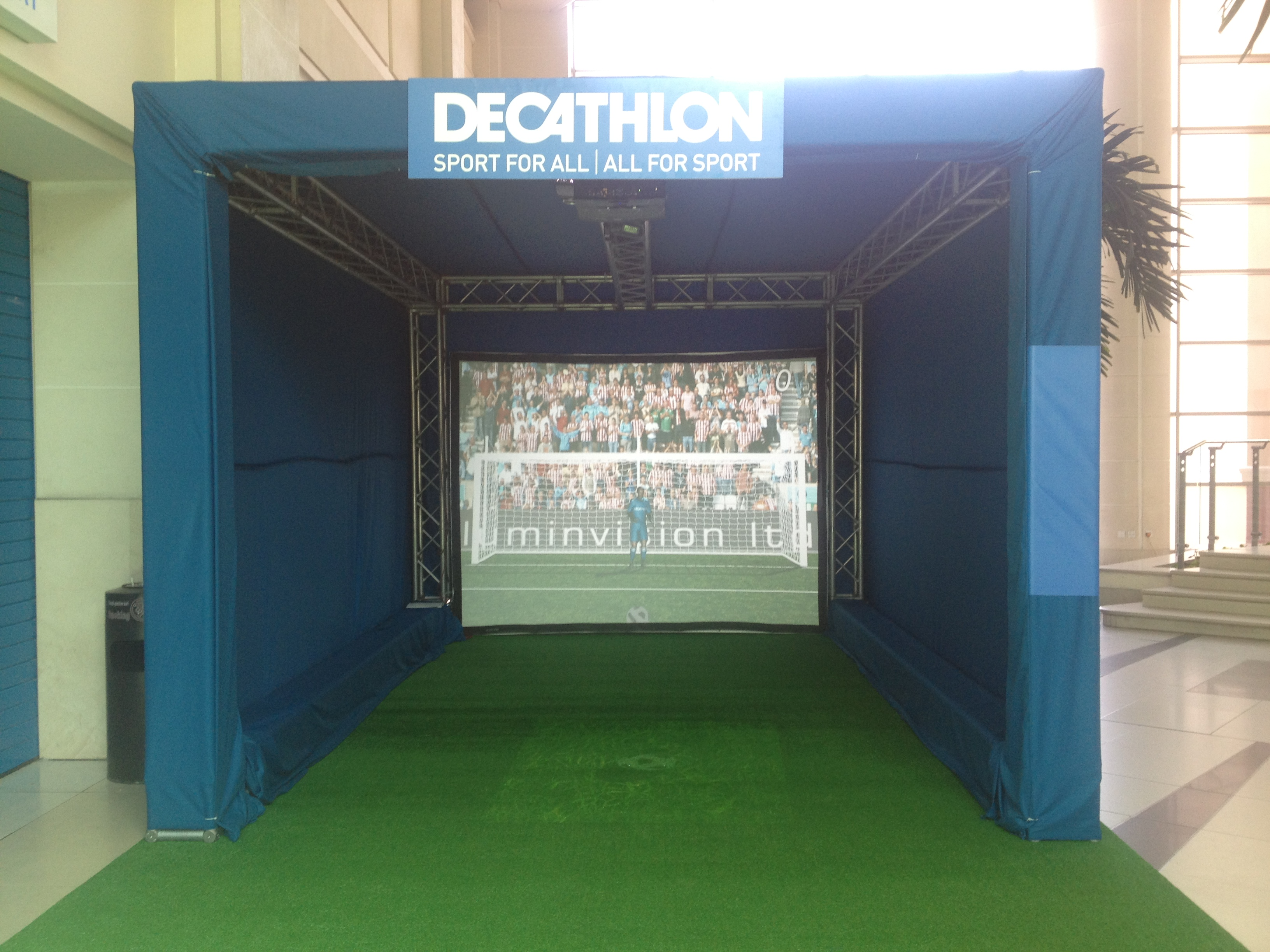 Interactive Penalty Shootout