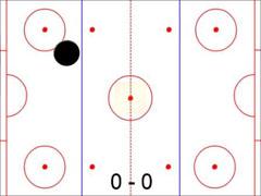 Interactive Air Hockey Game